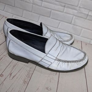 Cole Haan Nike Air Silver Iridescent Loafers 11.5M